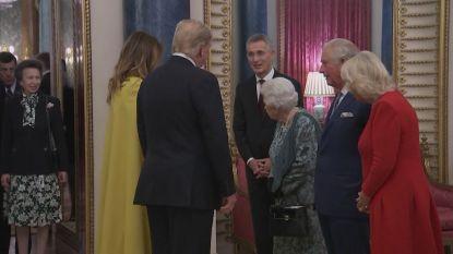 Na het geroddel: zet de Queen prinses Anne op haar plaats omdat ze Trump niet wil groeten?