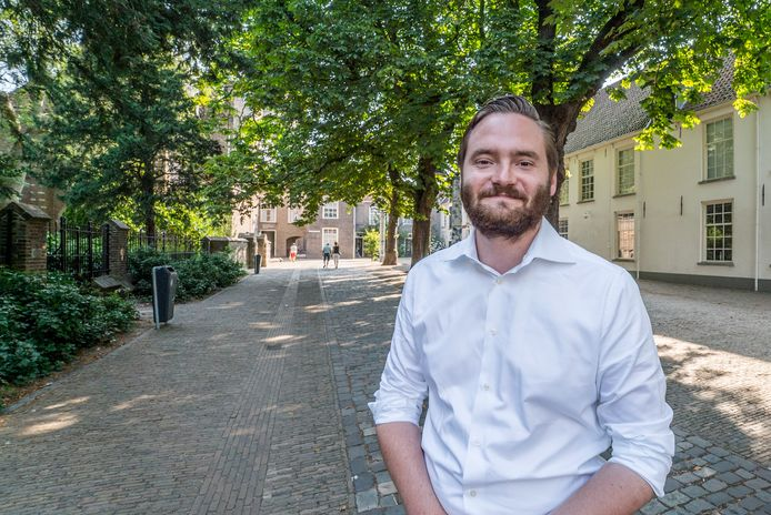 Wethouder Bas Vollebregt is de 'bestelchallenge' gestart.