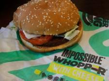 Vegetarische Slager levert plantaardige Whoppers aan 2400 filialen Burger King