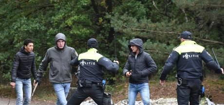 Rellen in Landhorst: hoe de ME een groep studenten uit Ede van het terrein veegt