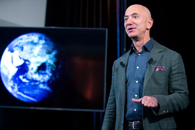 Amazon-topman Jeff Bezos. Beeld EPA