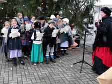 'Dit is toch prachtig? Sneeuw op de kerstmarkt in Diepenheim'