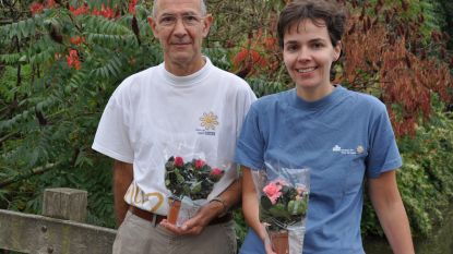 Silke en Guido organiseren plantjesweekend voor Kom op tegen Kanker