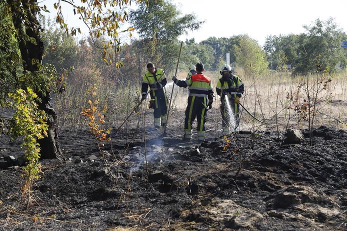 328dc10e1c6 Gebied met struiken staat in brand in Grave   Grave   gelderlander.nl