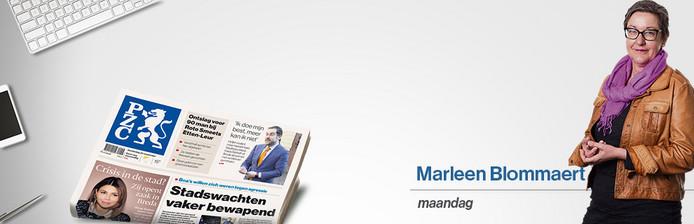 Columniste Marleen Blommaert