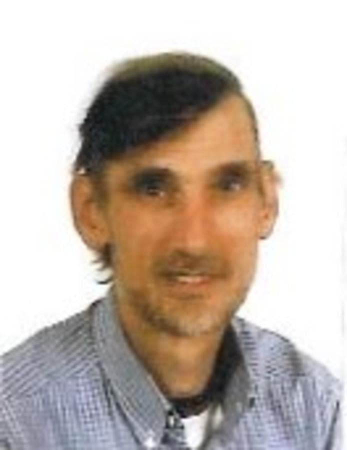 De vermiste Marinus Johannes Schoneveld.
