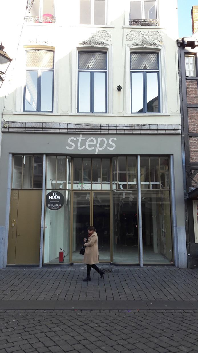 De inmiddels al gesloten vestiging van Step op de Markt