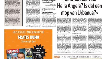"""""""GAS-boetes voor Hells Angels? Is dat een mop van Urbanus?"""""""