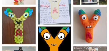 Leerlingen basisschool verspreiden Antistofje in gemeente Gilze en Rijen