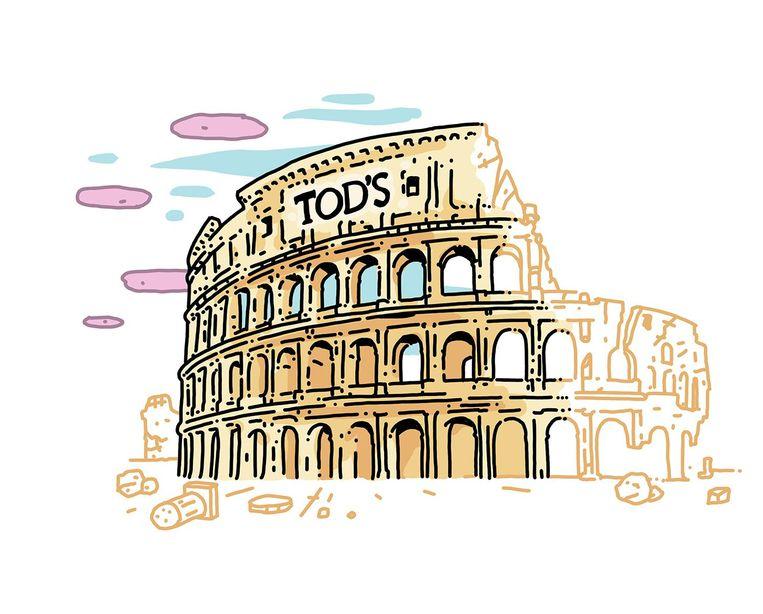 Monument: Colosseum, Rome. Opgeknapt door: Tod's. Bedrag: 25 miljoen euro. Eerste fase (2011-2016) afgerond, tweede bezig. Beeld Olivier Heiligers