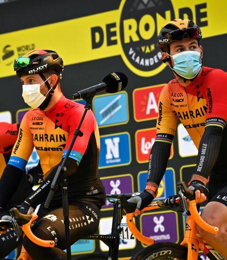 Deux cas de Covid-19 positifs parmi les staffs au Tour d'Espagne, aucun coureur positif