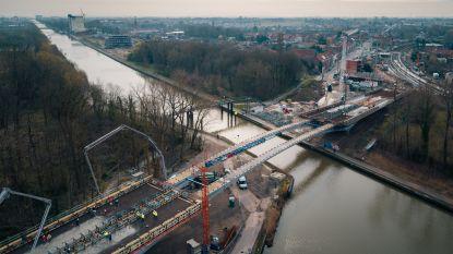 Officiële opening nieuwe Dorpsbrug is voor 10 mei