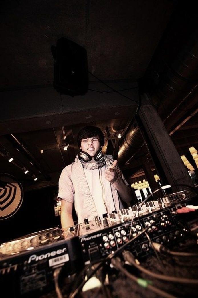 De Zutphense DJ Melle Jutte. Bron: Kunstbende