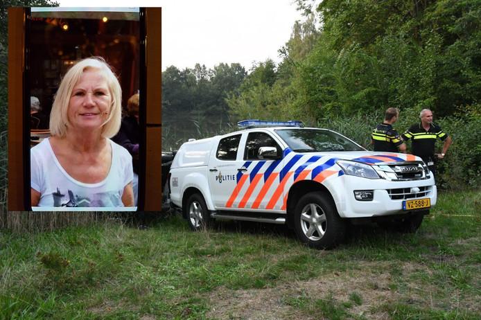 De zoektocht naar de vermiste vrouw dinsdag (inzet: vermiste vrouw)