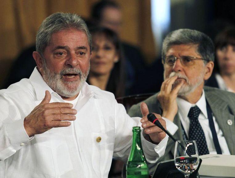 Voormalig president Lula da Silva van Brazilië. Beeld reuters
