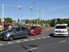 Voertuigen botsen op elkaar in Nijmegen
