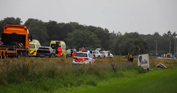 Motorrijder overlijdt bij ongeluk op de N272 in Oploo.