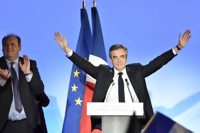 De Franse presidentskandidaat François Fillon.