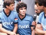 Ajacied David Endt met ingelijst Feyenoord-shirt Van Hanegem