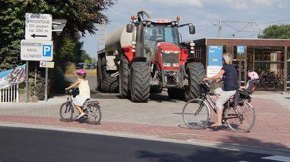 """""""Tractors in kern gevaarlijk voor fietsers"""""""