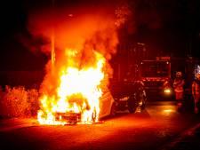 Nu al een record aantal autobranden in Arnhem, politie verguld met vijf aanhoudingen