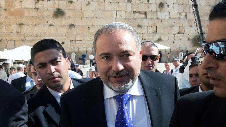 Avigdor Lieberman Beeld afp