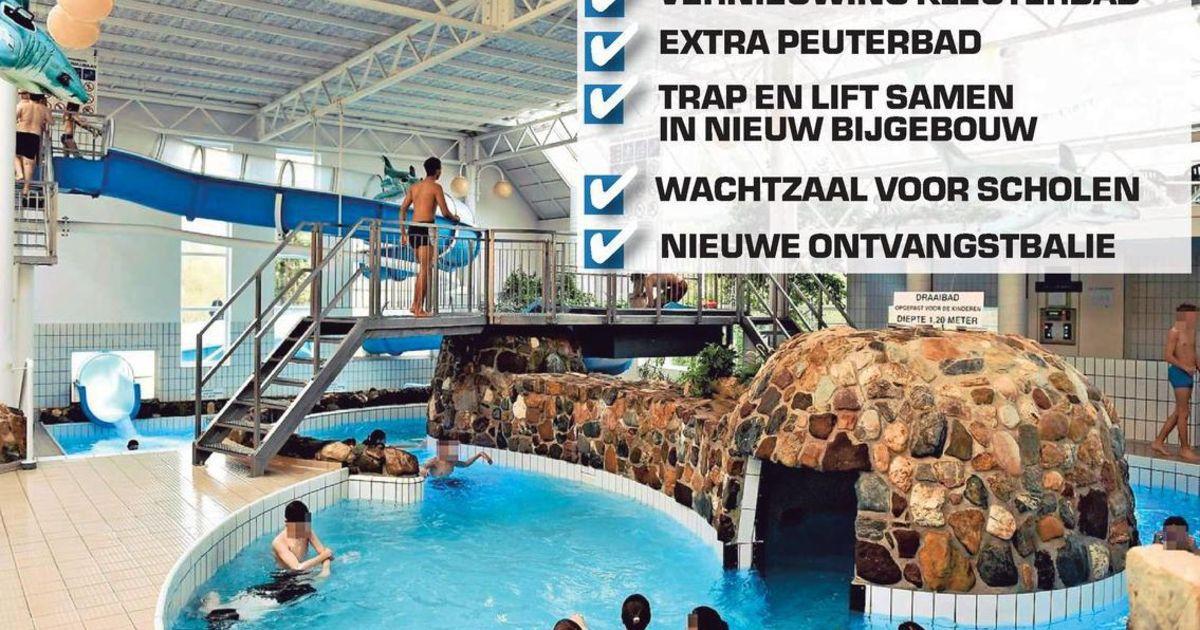 Renovatie zwembad olympos tegen 2020 dendermonde regio for Renovatie zwembad