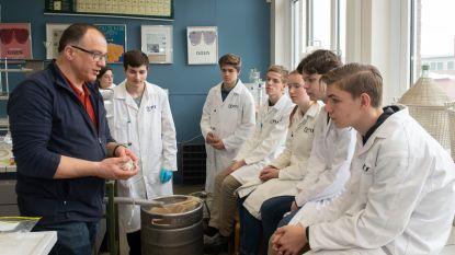 """PTS-leerlingen brouwen bier tijdens de lesuren: """"Er komt heel wat chemie bij kijken"""""""