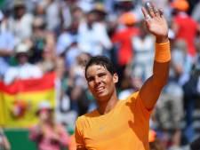 Nadal naar 12de finale in Monte Carlo na masterclass