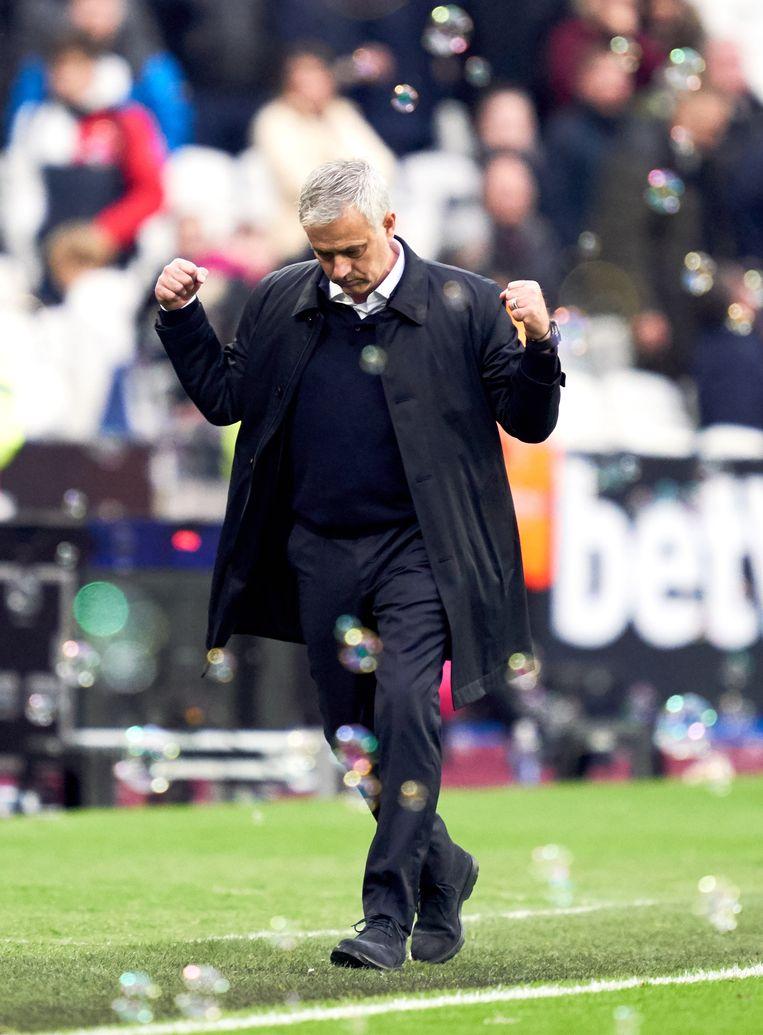 José Mourinho keerde als verloren zoon terug bij Tottenham Hotspur.  Beeld BSR Agency