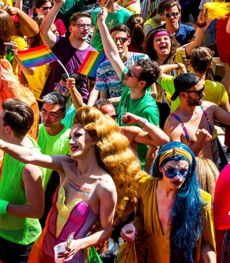Utrecht Pride niet op de grachten, maar wel online gevierd