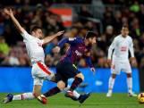 Messi en Suarez helpen Barcelona aan zege
