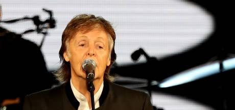 McCartney haalt Ringo en Ron Wood podium op