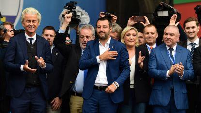 Twaalf partijen maken zich in Milaan op voor sterke eurokritische fractie