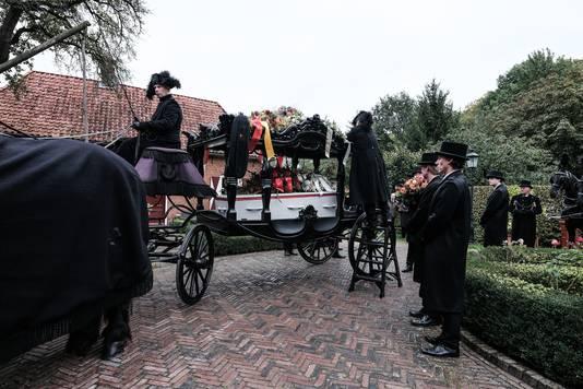 Uitvaart van Jonkheer Floris op 't Keldertje.