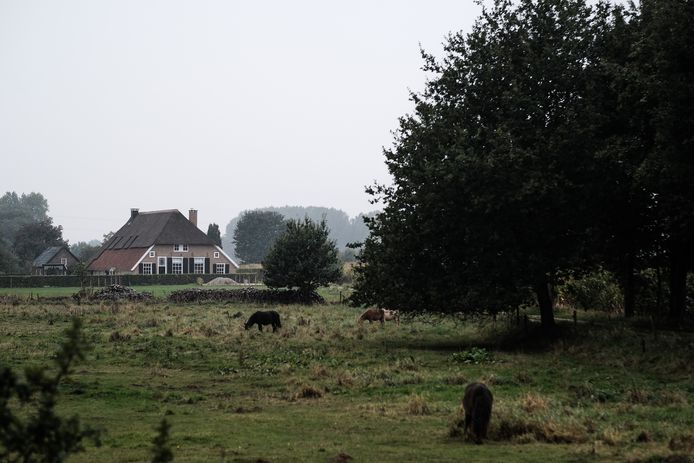 De boerderij die is aangekocht voor de nieuwbouw van het Slingeland Ziekenhuis in Doetinchem.
