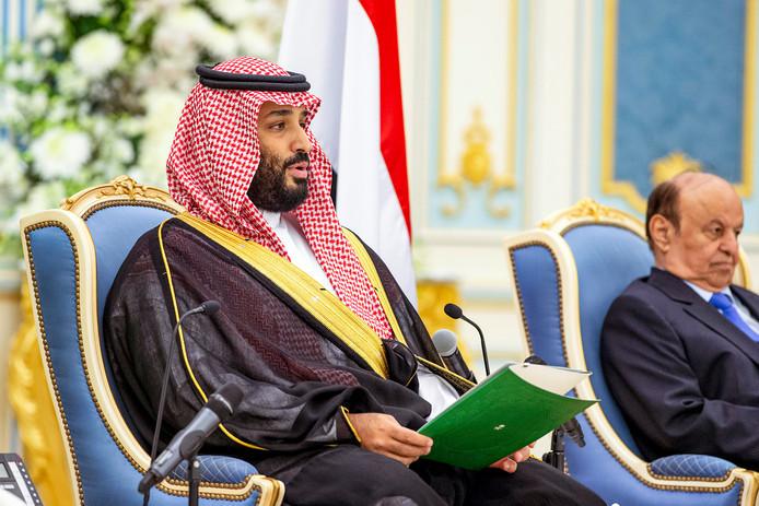 De Saoedische kroonprins Mohammed bin Salman