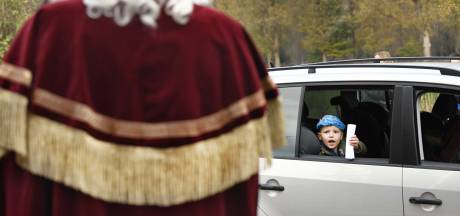 Sinterklaas drive through in Kloosterzande
