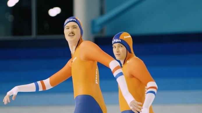 Bram Krikke en Tom van der Weerd.