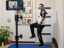 Met online cursus wil Nick ouderen aan het sporten krijgen: 'Man van 83 deed oefeningen met een baksteen'