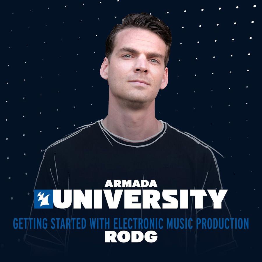 Dj/producer en docent Rodg
