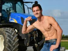 Hunk Christiaan prijkt als enige in provincie op allereerste boerenkalender