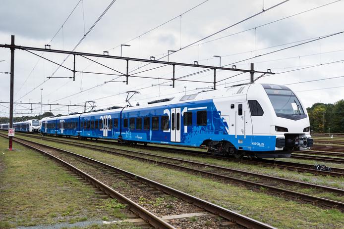 Vervoersmaatschappij Keolis rijdt vanaf 10 december met de Flirt op het Kamperlijntje.