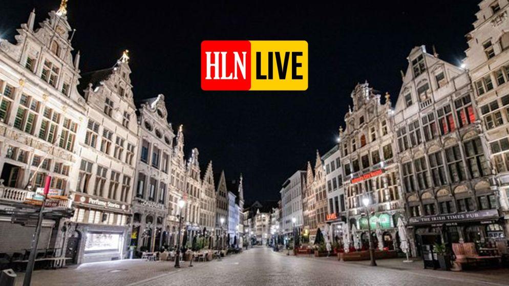 LIVE. Antwerpse avondklok tijdelijk niet gehandhaafd wegens hittegolf, politie handhaaft mondmaskerplicht enkel op drukke plaatsen