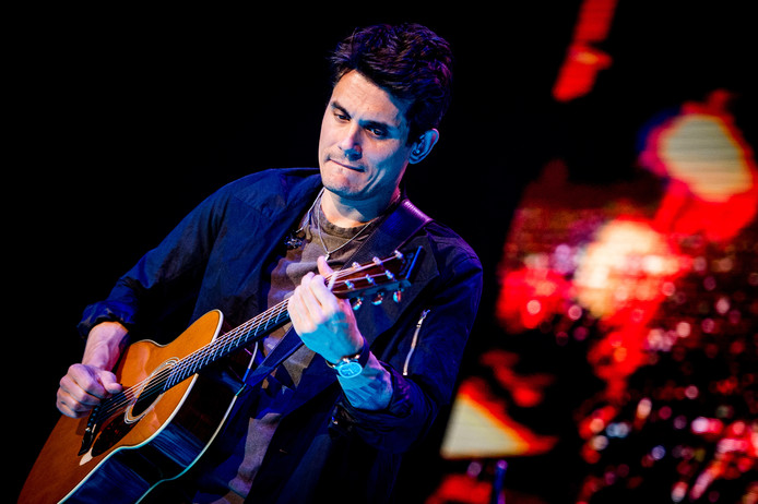 John Mayer in concert in de Ziggo Dome