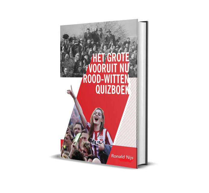Het grote vooruit nu rood-witten quizboek.
