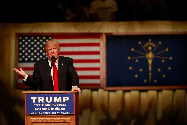 Donald Trump wordt nu zo goed als zeker de Republikeinse presidentskandidaat.