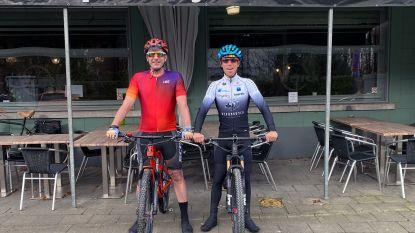 De leek en de pro: cafébaas Arne Mortelmans en mountainbiker Frans Claes gaan beiden de Cape Epic in Zuid-Afrika bedwingen ...