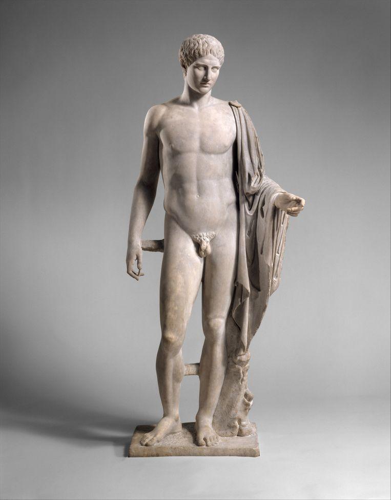 Polykletos, Hermes. Beeld Metropolitan Museum of Art