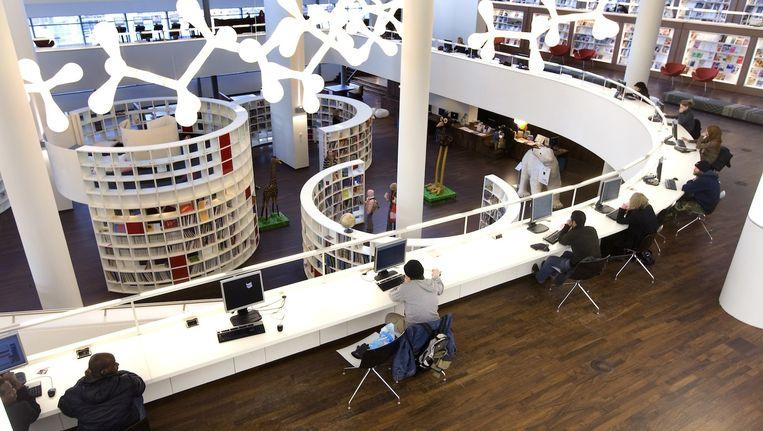 De Openbare Bibliotheek in Amsterdam. Beeld anp